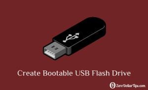 Create a bootable dos usb drive
